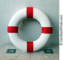 parete, lifebuoy, dentro