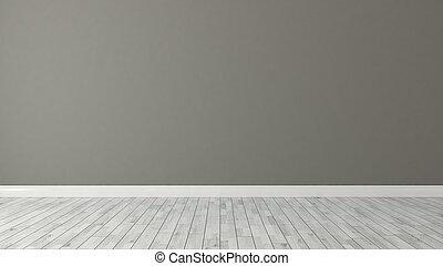 parete, marrone, sfondo bianco, parquet