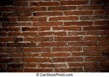 parete, mattone, pietra