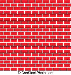 parete, mattone, seamless