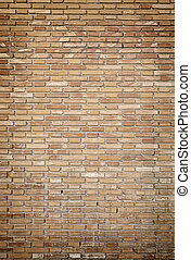 parete, mattone, sporco