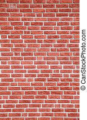parete, mattone, struttura