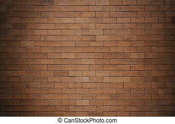 parete, mattone, struttura, fondo