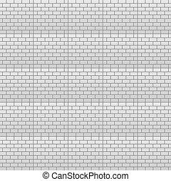 parete, mattone, vettore, fondo