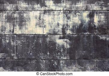 parete, metallo