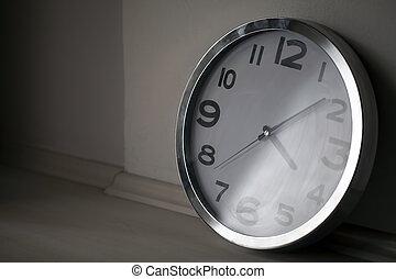 parete, orologio