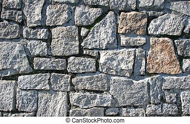 parete, pietra, 3