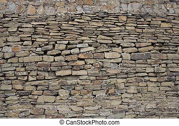 parete, pietra, antico