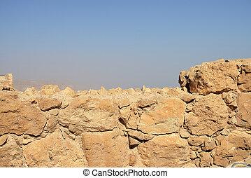 parete, pietra, antico, fondo, struttura