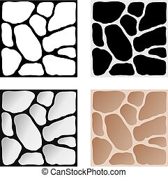 parete, pietra, elementi