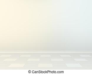 parete, plinth, vuoto, floor.