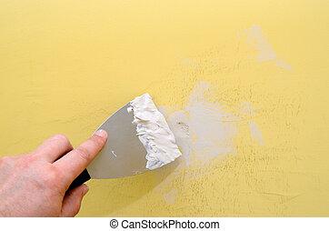 parete, riparazione
