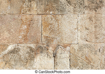 parete, romano, antico, pietra, fondo
