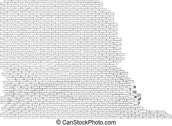 parete, rotto