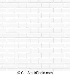 parete, seamless, struttura, disegno, mattone bianco, tuo