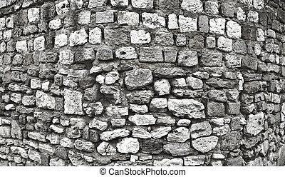 parete, serie, fotografia, 2, hdr