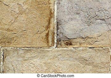 parete, struttura pietra, muratura, fondo