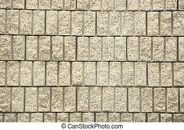 parete, taglio, blocco