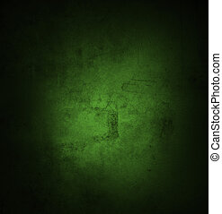 parete, verde