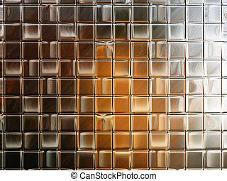 parete, vetro, carta da parati, o, fondo