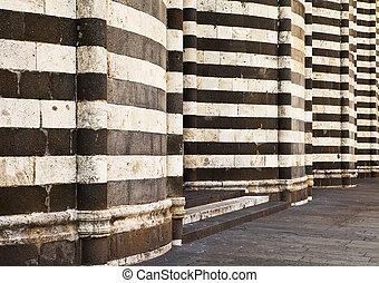 pareti, di, il, orvieto, cattedrale