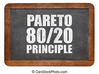 pareto, princípio, eighty-twenty, regra