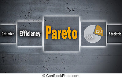 Pareto touchscreen concept background