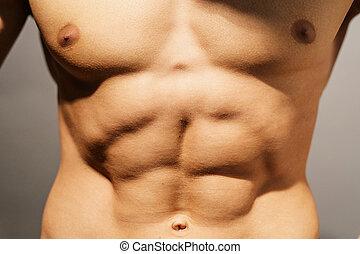 parfait, abdomen