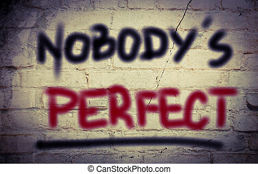 parfait, concept, nobody's