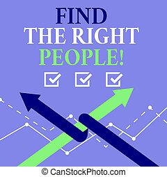 parfait, droit, mot, candidat, business, texte, gens., trouver, écriture, métier, concept, position., choisir, ou