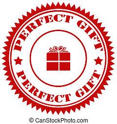 parfait, gift-stamp