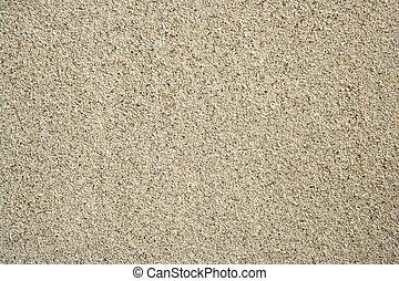 parfait, uni, texture, sable, fond, plage