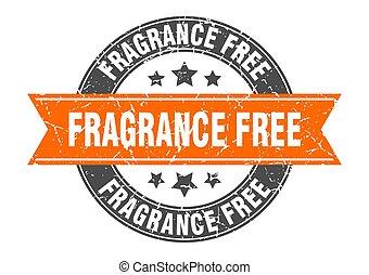 parfum, timbre, signe, gratuite, rond, étiquette, ribbon.