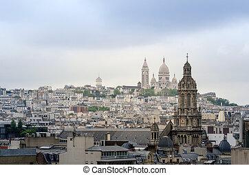 parigi,  Montmartre,  basilica,  Sacre,  Coeur