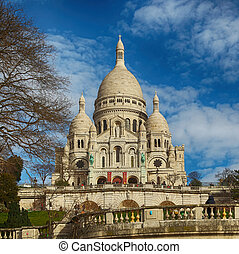 parigi,  Sacre,  basilica,  Coeur