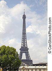 parijs, eiffel, tower., frankrijk