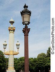parijs, lampen