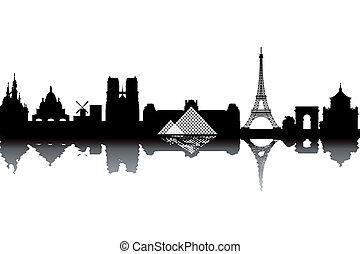 parijs, skyline