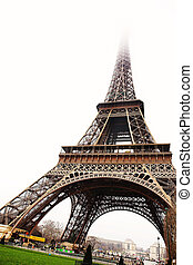 Paris #19 - The Eiffel Tower in Paris, France.