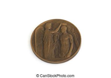 paris, 1924, jeux olympiques, participation, medal.,...