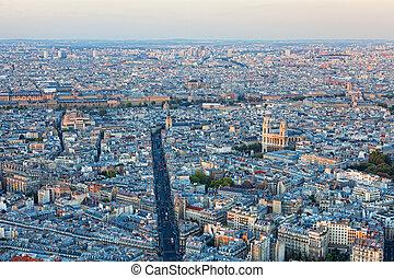 Paris, antenne, Udsigter