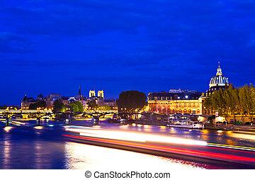 Paris at the Blue Hour