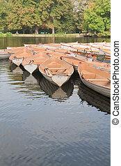 paris, bateau, boulogne