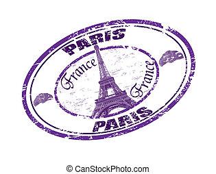 paris, briefmarke