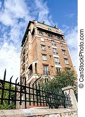 Paris Building from Fifties