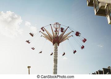 paris, carrousel