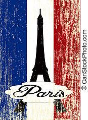 paris, carte