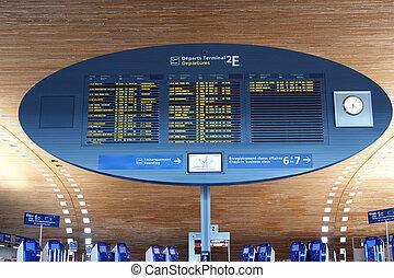 Paris-Charles de Gaulle Airport, CDG, LFPG (Aéroport...