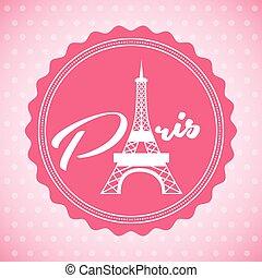 paris city design, vector illustration eps10 graphic