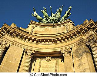 Paris detail of Grand Palais
